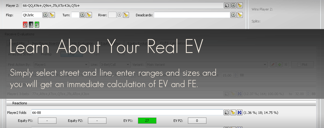Learn About Your Real EV with PokerRanger